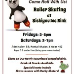Roller Skating at Siskiyou Ice Rink!