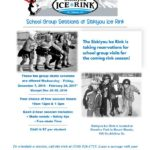 Group Skate Bookings at Siskiyou Ice Rink