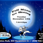 Dec. 13 Full Moon Skate at Siskiyou Ice Rink