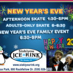 New Year's Eve at Siskiyou Ice Rink