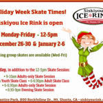 School Holiday Skate Times at Siskiyou Ice Rink
