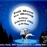 Full Moon Skate, Fri. Feb. 10 at Siskiyou Ice Rink