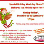 Holiday Weeks at Siskiyou Ice Rink