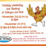 Holiday Weekday Ice Skating at Siskiyou Ice Rink