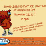 Thanksgiving Day at Siskiyou Ice Rink