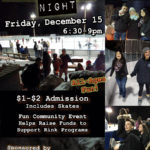 Dec 15th Cheap Skate Night at Siskiyou Ice Rink
