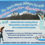 New Year's Day at Siskiyou Ice Rink