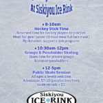 Sundays at Siskiyou Ice Rink