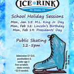 Upcoming School Holiday Sessions at Siskiyou Ice Rink