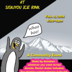Cheap Skate Night at Siskiyou Ice Rink: Feb 9, 2018